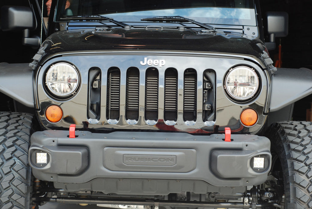 JEEP Wrangler JK CUBE 10A/Hardrock Fog Light Replacement Kit  (2013-2018)