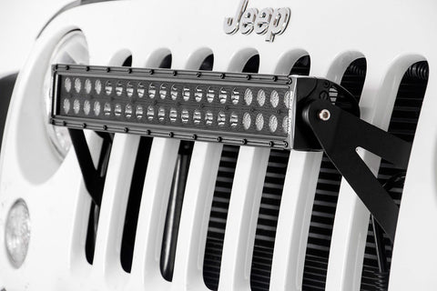 "Jeep JK 20"" Series Grille Mount"