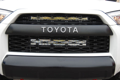 Toyota 4Runner Upper Grille LED Light Bar Kit