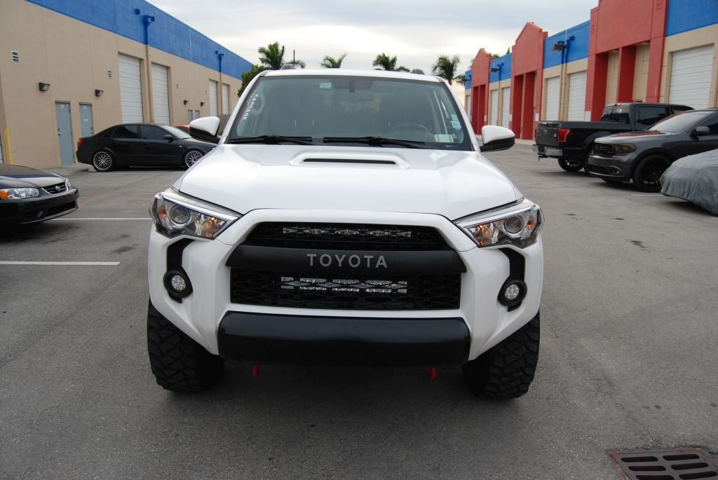 Toyota 4runner Hidden Lower Grille Led Light Bar Kit