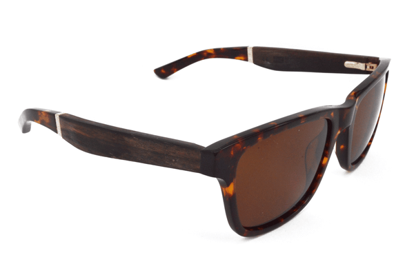 The Peak - Tortoiseshell / Copper Mirror + Tan Polarized