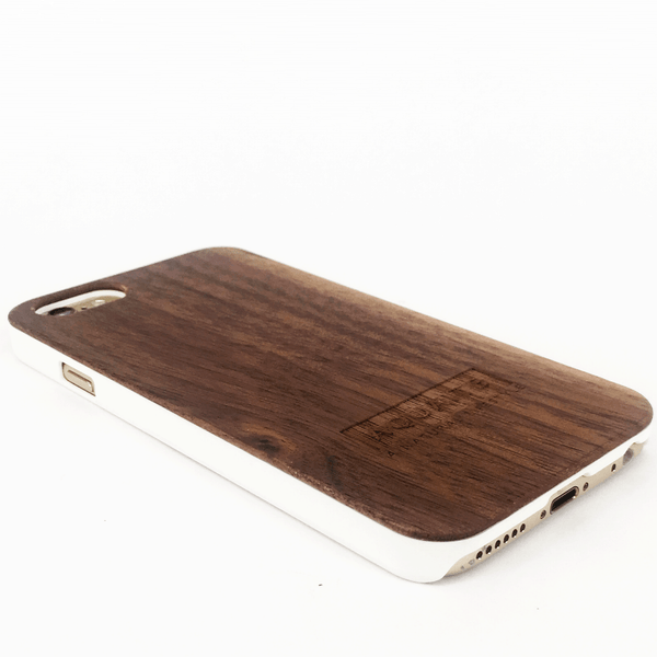The Salt: Natural Walnut iPhone Case