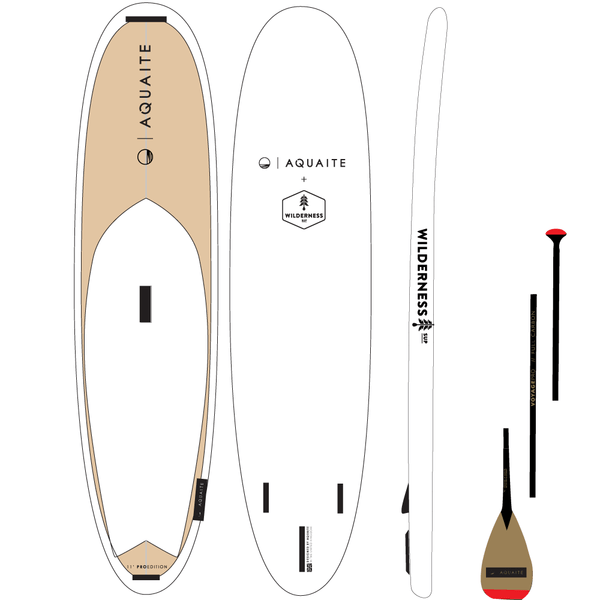 11' iSup + Carbon Paddle + Micro Adventure