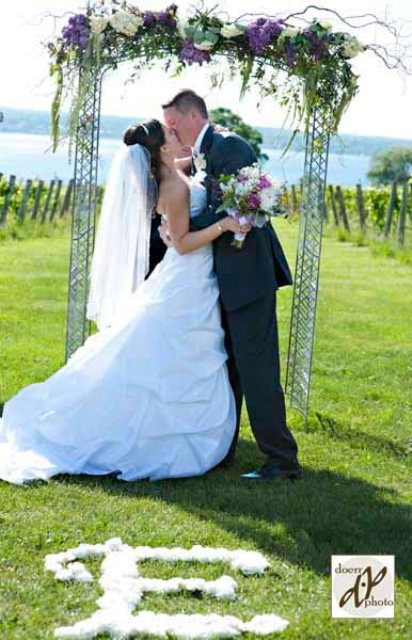 Stacy K Snapshot: Vineyards in the Spring | Rochester NY Wedding Florist