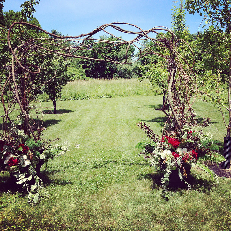 Wedding Arbor Designed by Stacy K Floral