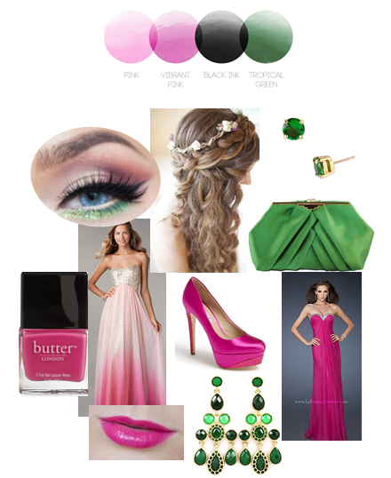 Watermelon Palette | Color Story | Prom Inspiration Board