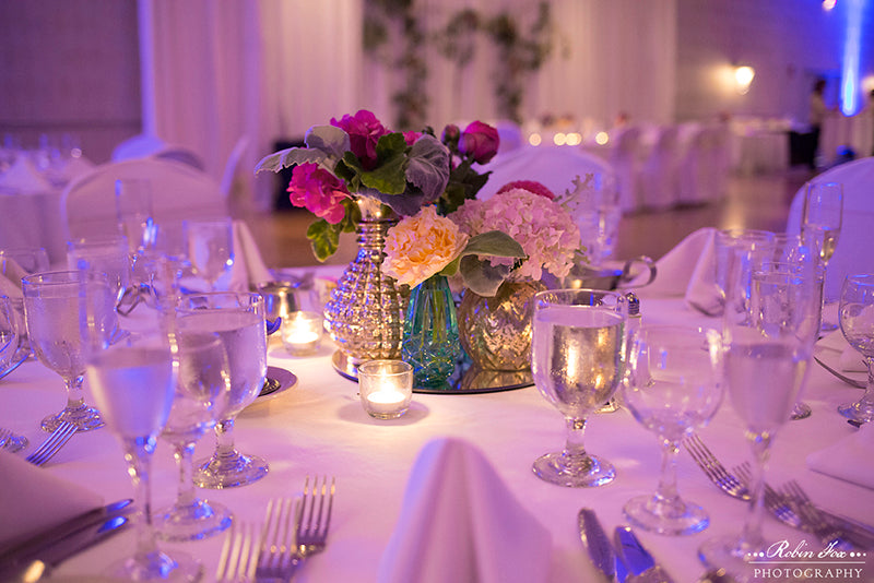 Radisson Riverside Hotel Wedding Flowers in Rochester NY