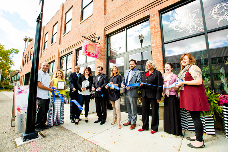 Ribbon Cutting of 43 Russell Street
