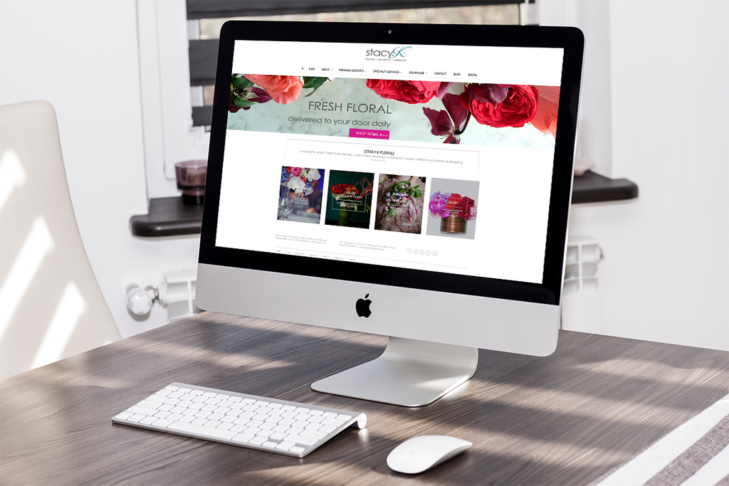 Stacy K Floral | Events | Decor Website ReDesign