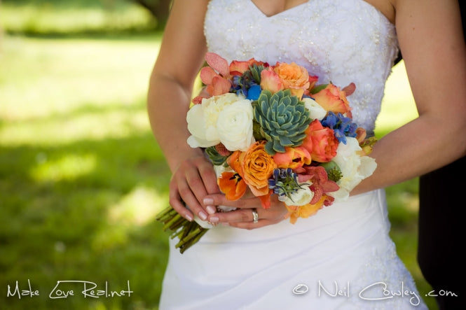 Wedding Florist Rochester, NY | Wedding Wednesday | Sunset Wedding Palette