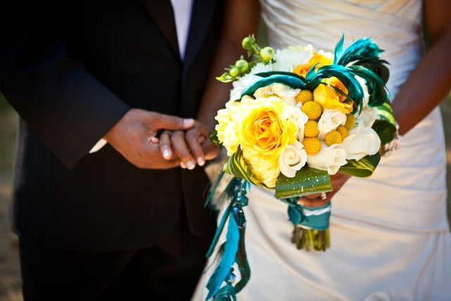 2011 Wedding Snapshots: Yellow and Teal Wedding