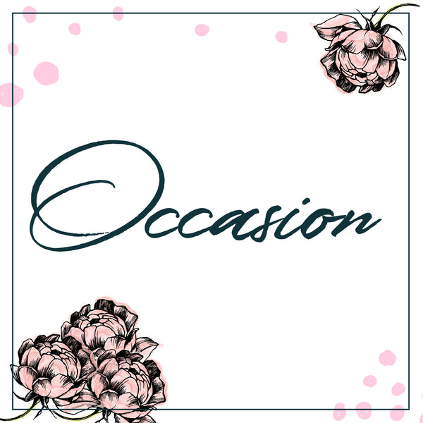 Occasions for Flowers