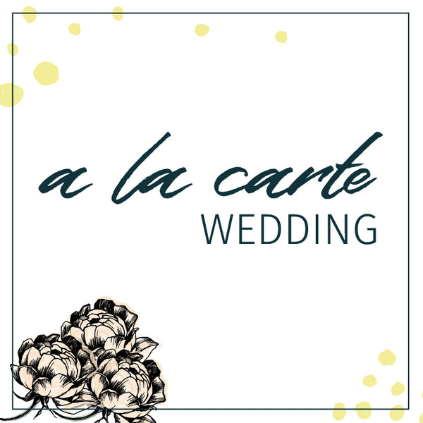 A La Carte Wedding