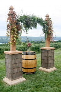 Winery Weddings, fingerlakes wedding florist, tom mike photographer, burgundy and cream wedding, glenora winery