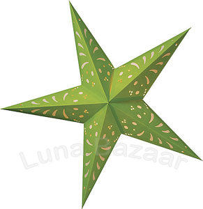 IS53B-green-paper-star-lantern