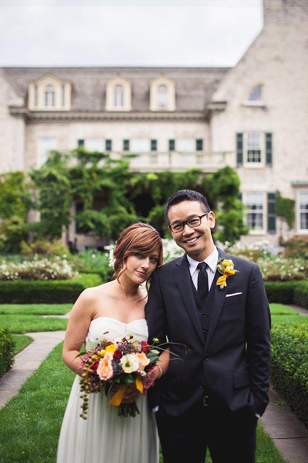 Max of Eastman Place Wedding Rochester NY Wedding Florist 5