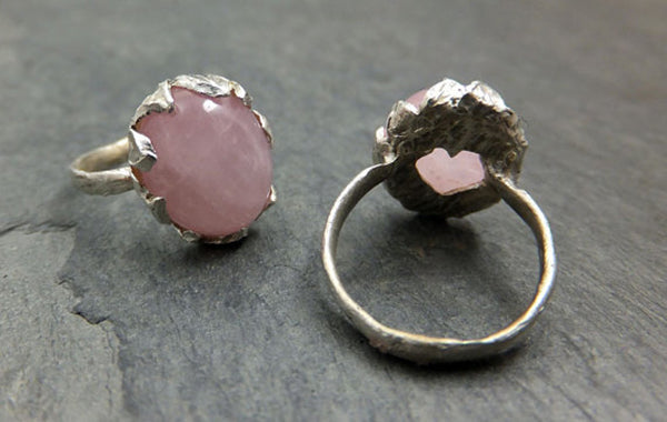 Raw Diamond Rings by Etsy Seller Angeline 5