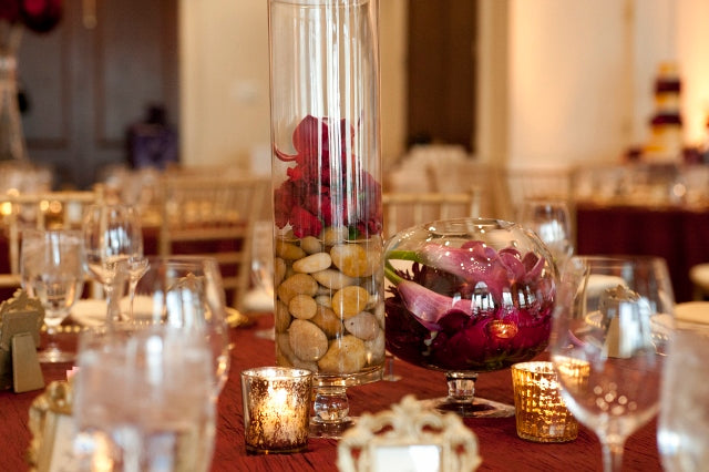 Apothocary Centerpiece | flowers by Stacy K Floral | pictures by Redstone Studios | specialty rentals by Simply Beautiful Events | Ceremony at Chapel Hill, Rochester NY | Reception at Monroe Golf Club
