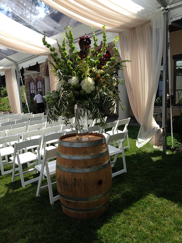 Summer Wedding Flowers at the Monroe Golf Club 11