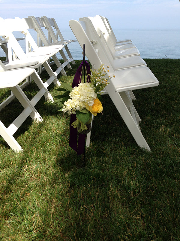 Summer Wedding Flowers at the Monroe Golf Club 14