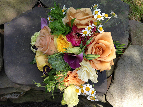 Summer Wedding Flowers at the Monroe Golf Club 15