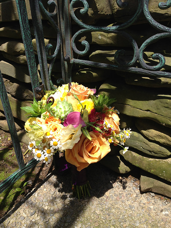 Summer Wedding Flowers at the Monroe Golf Club 17