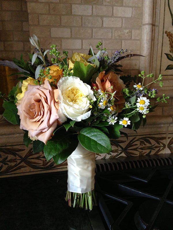 Summer Wedding Flowers at the Monroe Golf Club 19