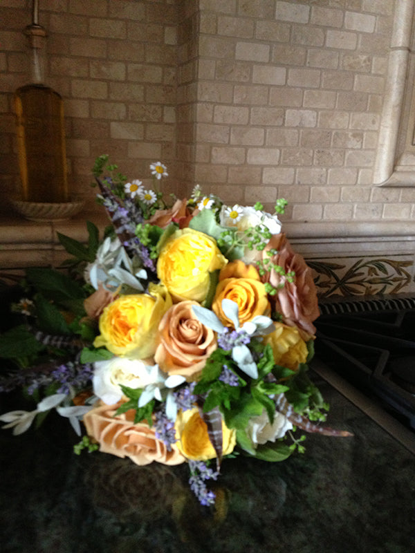 Summer Wedding Flowers at the Monroe Golf Club 20