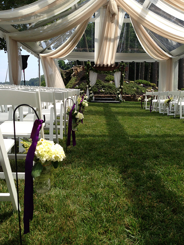 Summer Wedding Flowers at the Monroe Golf Club 23