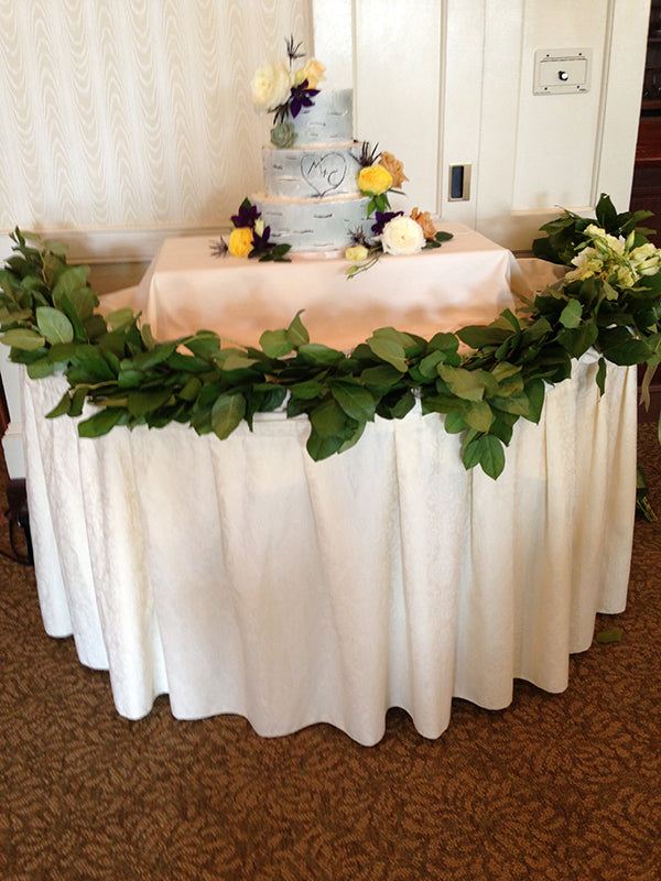 Summer Wedding Flowers at the Monroe Golf Club 29