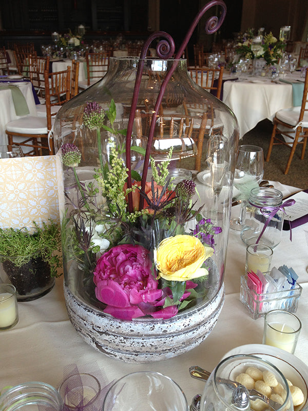 Summer Wedding Flowers at the Monroe Golf Club 30