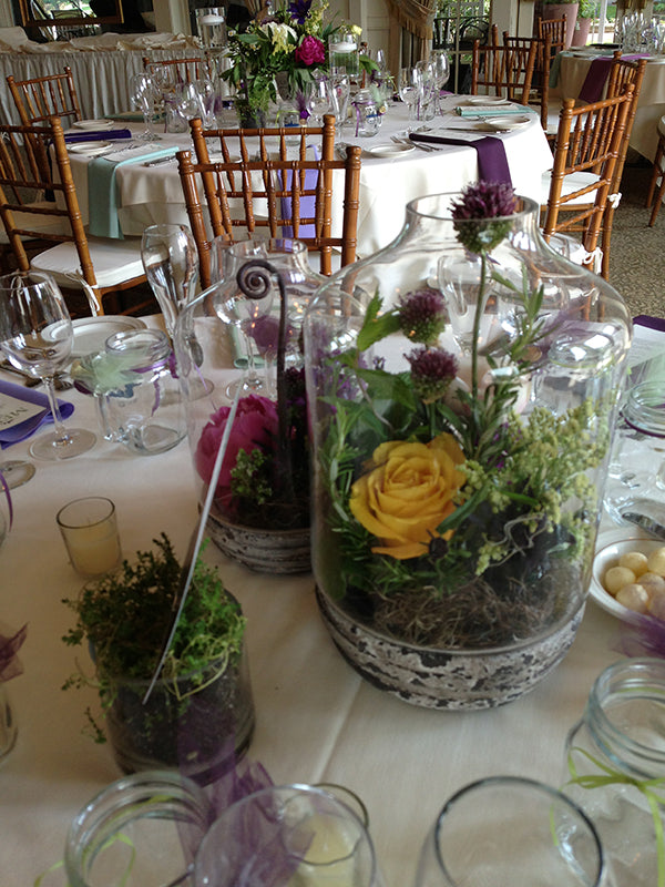 Summer Wedding Flowers at the Monroe Golf Club 31