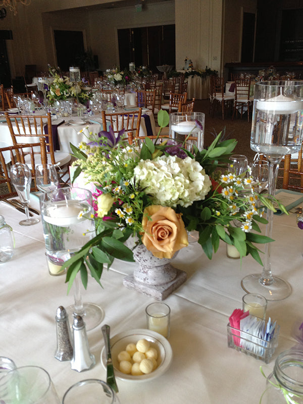 Summer Wedding Flowers at the Monroe Golf Club 33
