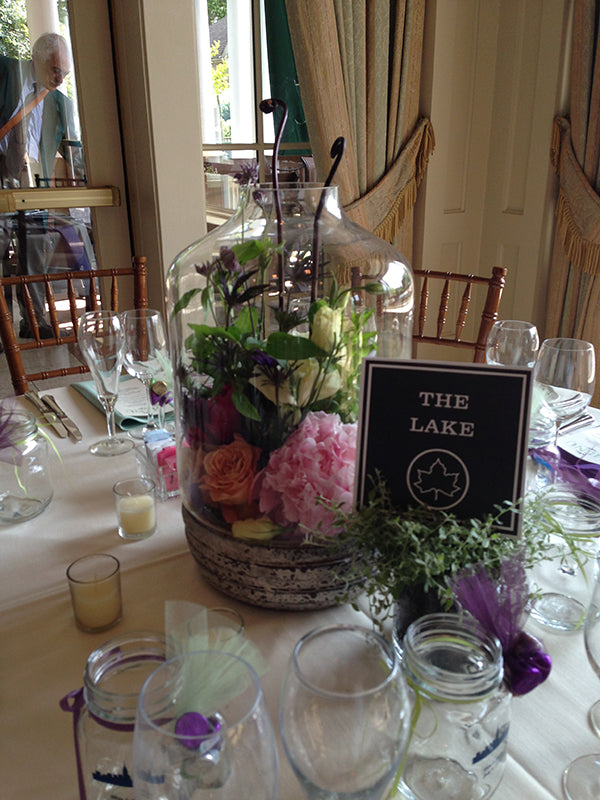 Summer Wedding Flowers at the Monroe Golf Club 34