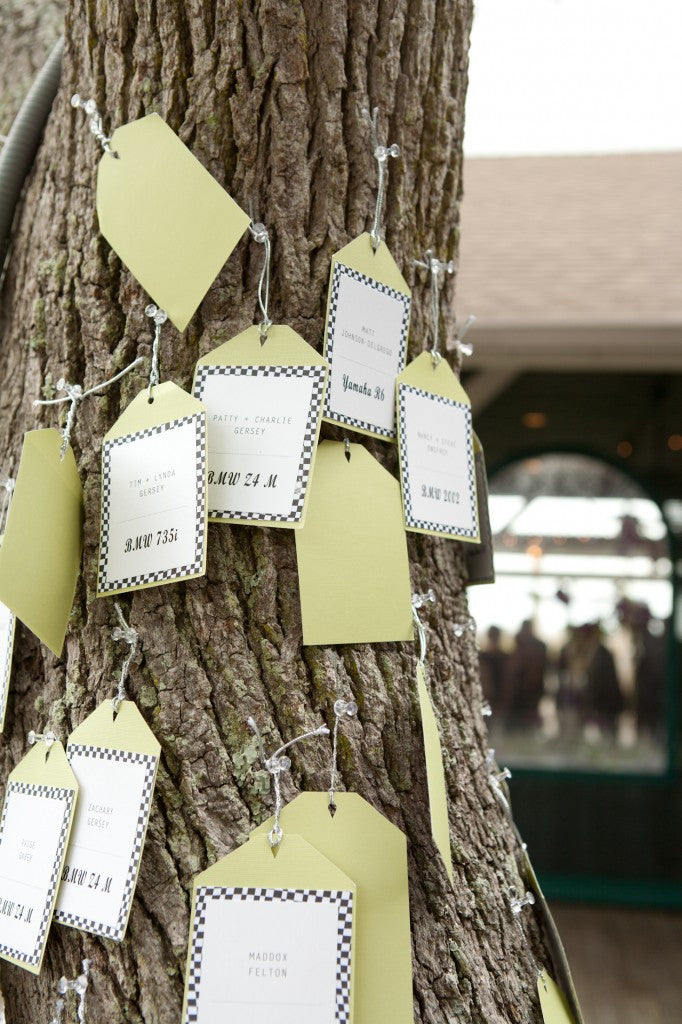 tree place cards