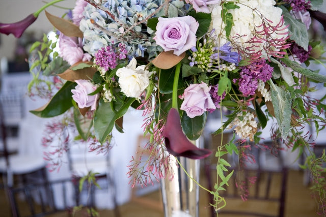 Purple Garden Wedding | Floral by Stacy K Floral | venue at Esperanza Mansion | pictures by Tammy Swales Photography | Specialty rentals by Simply Beautiful Events