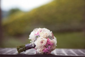 Brooch bouqet. Floral by Stacy K Floral, shot by Tammy Swales Photography at the Esperanza Mansion, Finger Lakes