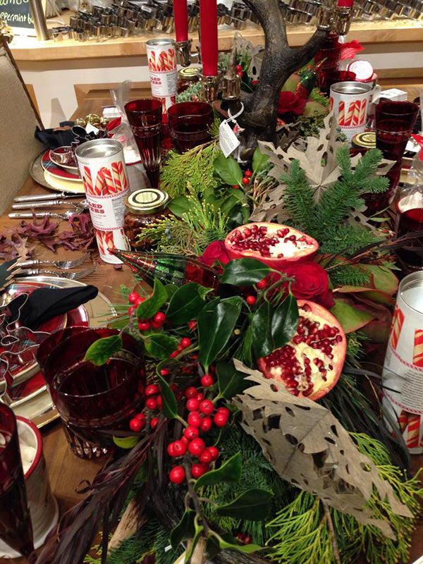 Williams-Sonoma Holiday Tablescapes by Stacy K Floral 2