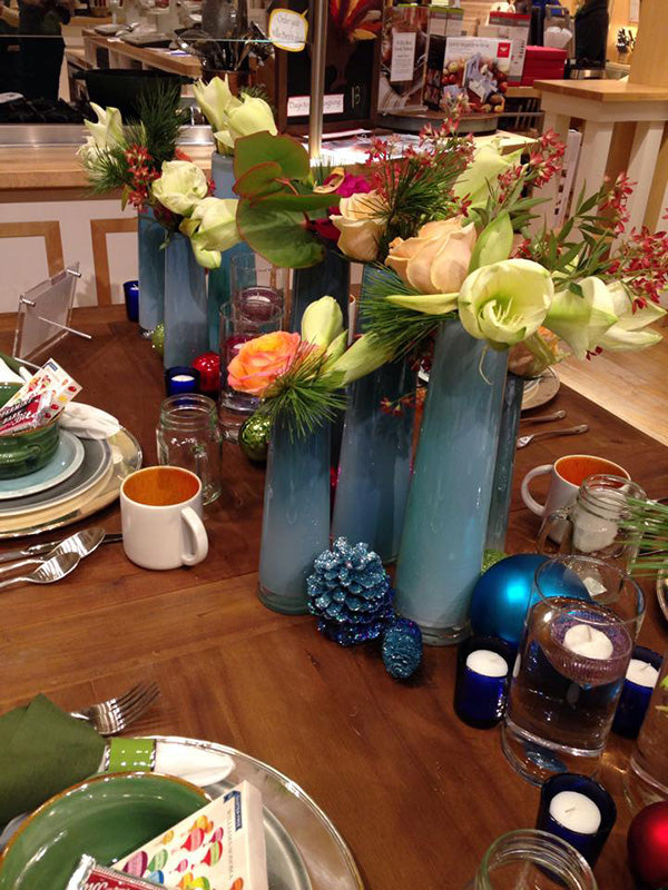 Williams-Sonoma Holiday Tablescapes by Stacy K Floral 4