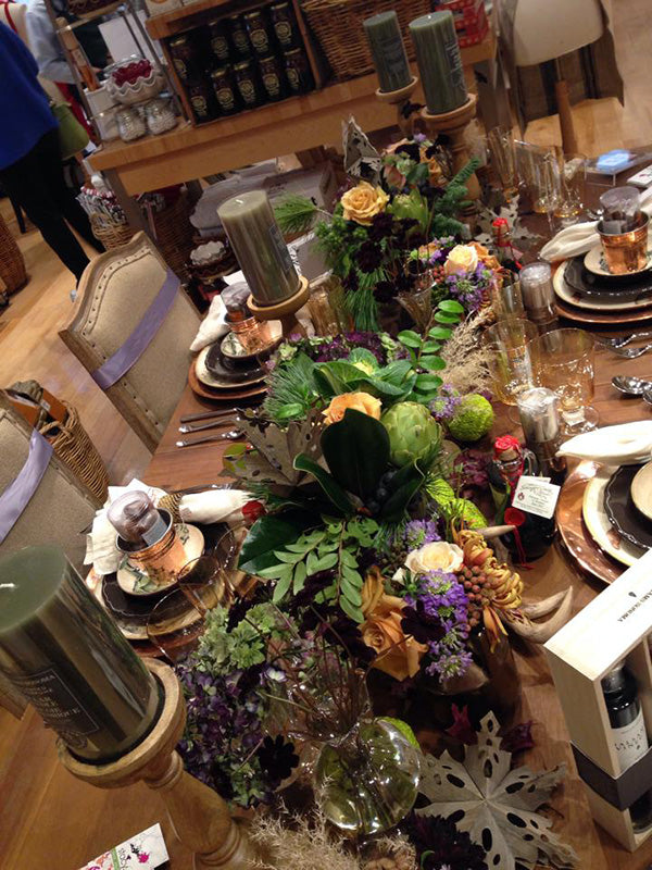 Williams-Sonoma Holiday Tablescapes by Stacy K Floral 9