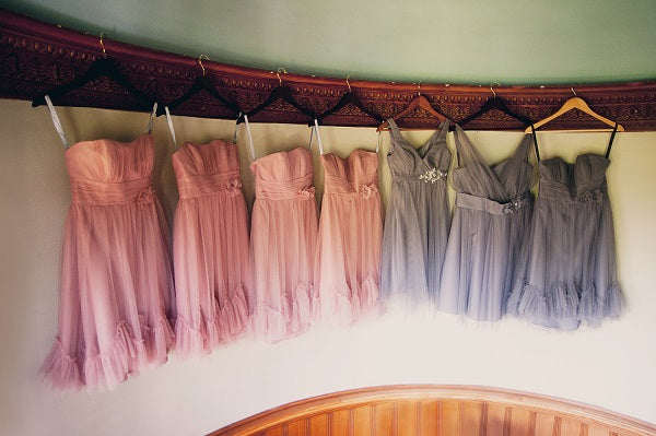 Bridesmaids dresses | flowers by Stacy K Floral | pictures by Jovial Photography | Belhurst Castle in Geneva, NY | Outdoor Wedding | Spring Wedding Flowers