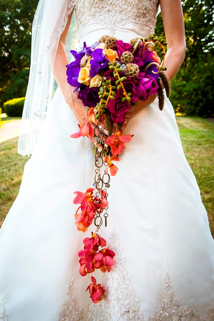 wedding-bouquet_cascading-bouquet_orchids