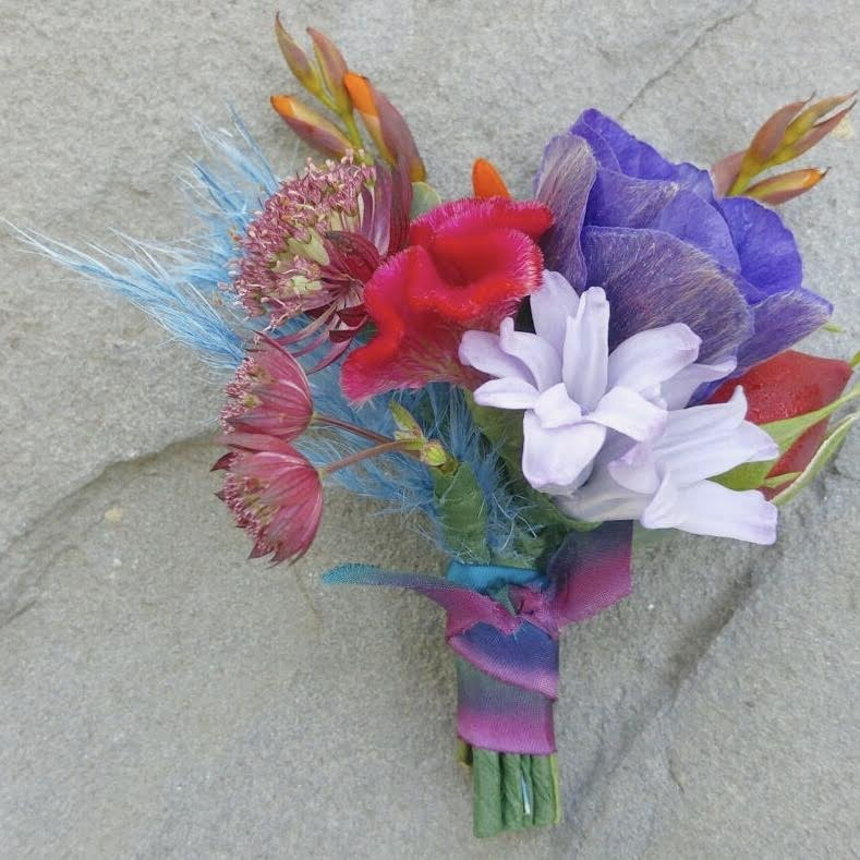 Bright Boutonniere - STACY K FLORAL