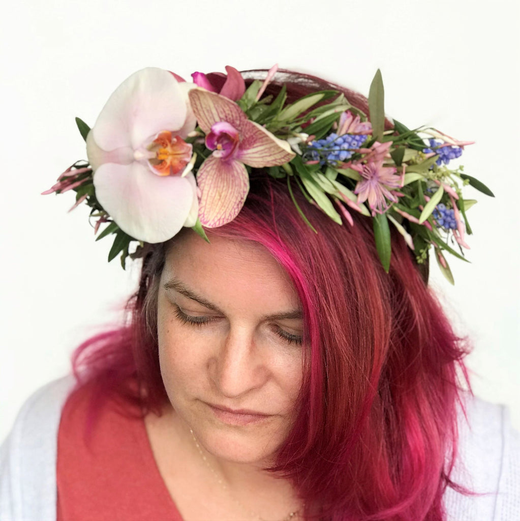 Classic Head Wreath - STACY K FLORAL