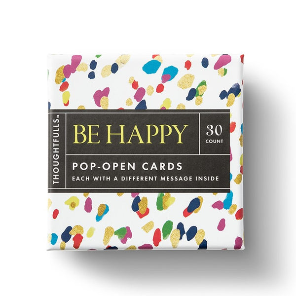 """Be Happy"" Pop-Open Cards - STACY K FLORAL"