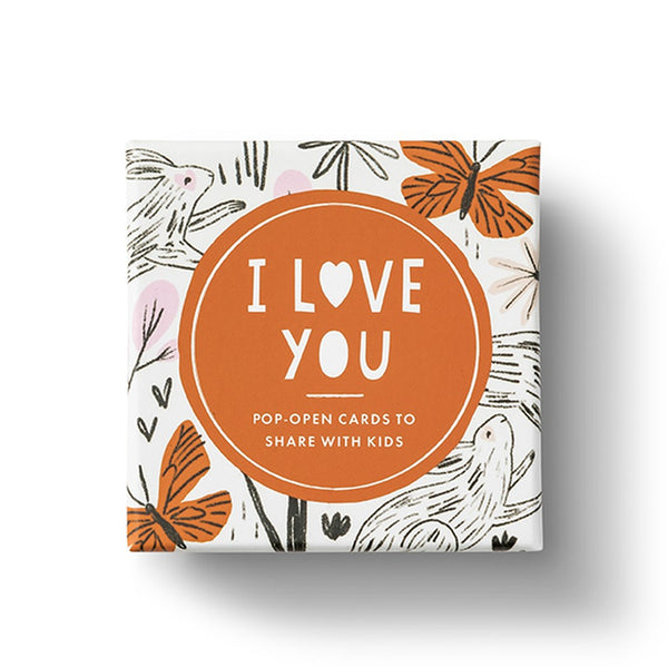 """I Love You"" Pop-Open Cards - STACY K FLORAL"