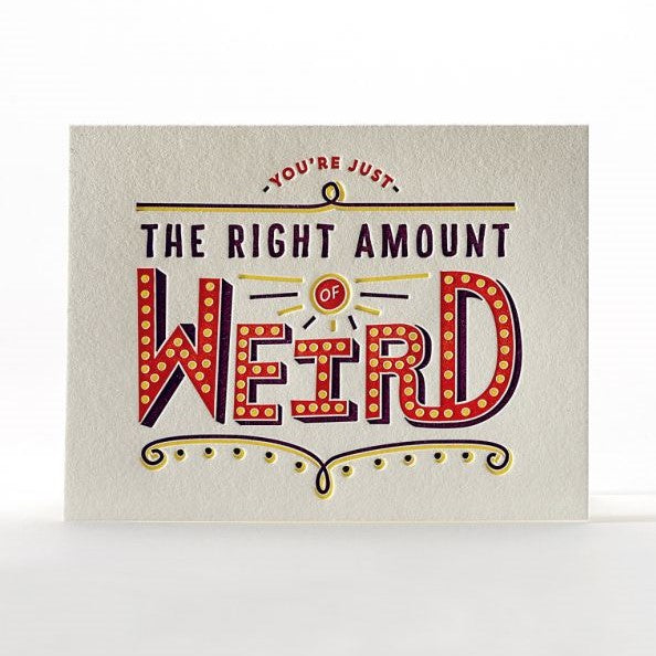 The Right Amount of Weird - STACY K FLORAL