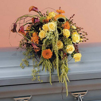 European Garden Casket - STACY K FLORAL