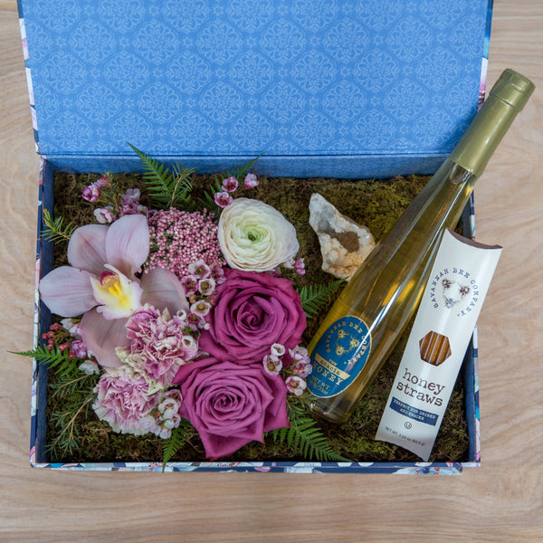 Honey and Blooms Gift Box