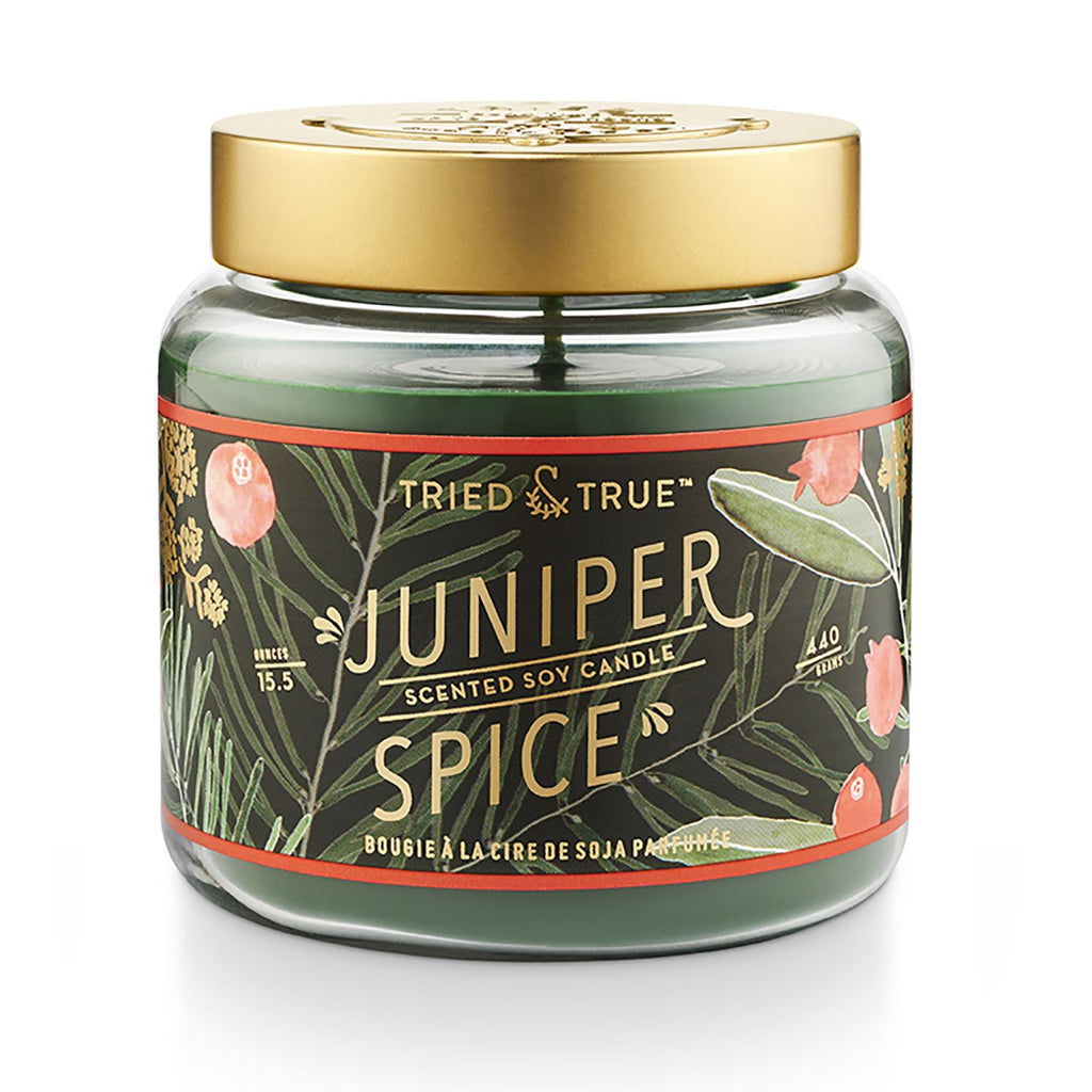 Juniper spice candle